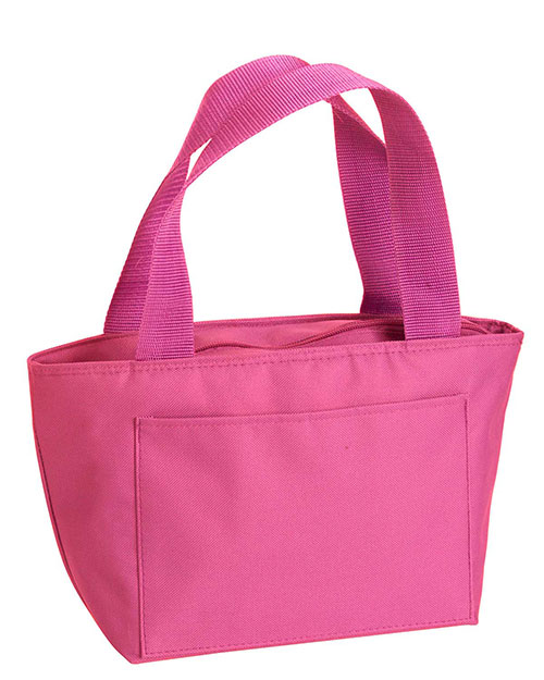 Liberty Bags 8808 Simple and Cool Cooler Hot Pink at GotApparel