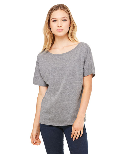 Bella + Canvas 8816 Women Slouchy T-Shirt at GotApparel