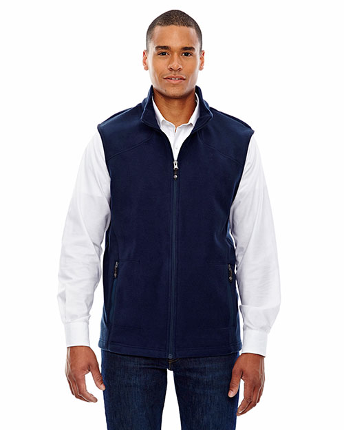North End 88173 Men Voyage Fleece Vest at GotApparel