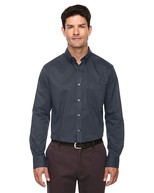 Core 365 88193 Men Operate Long-Sleeve Twill Shirt at GotApparel
