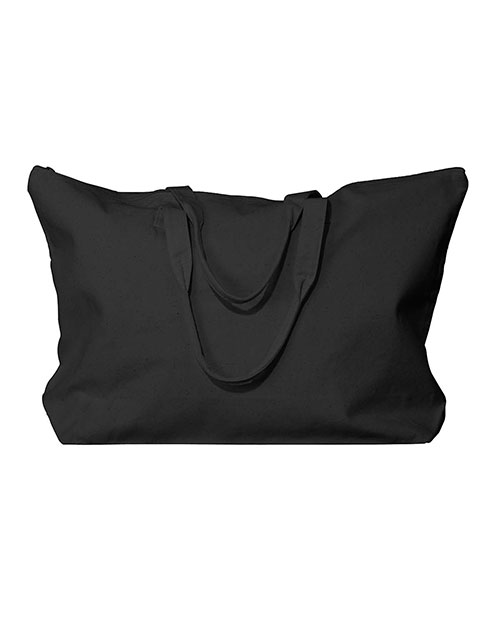 UltraClub 8863 Women Zippered Tote With Gusset at GotApparel