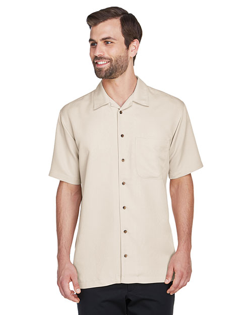 UltraClub 8980 Men Cabana Breeze Camp Shirt at GotApparel