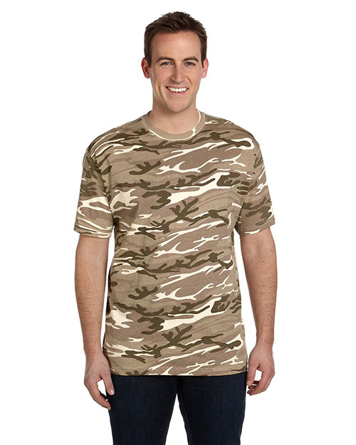 Anvil 939 Midweight Camouflage T-Shirt at GotApparel
