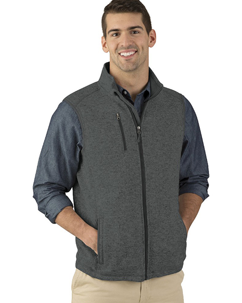 Charles River Apparel 9722  Men's Pacific Heathered Vest at GotApparel