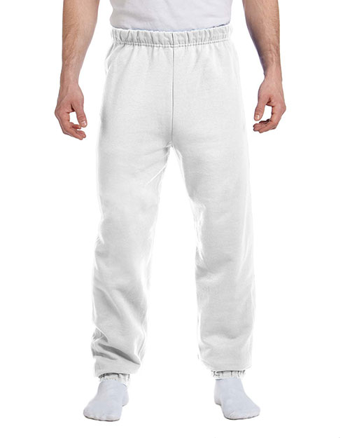 Jerzees 973  50/50 Sweatpants WHITE at GotApparel
