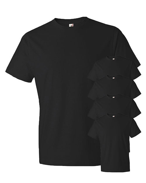 Anvil 980 Men Lightweight T-Shirt 5-Pack at GotApparel