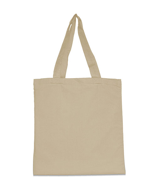 UltraClub 9860 Women Organic Recycled Cotton Canvas Tote at GotApparel