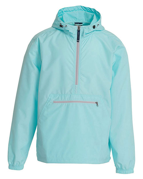 Charles River Apparel 9904 Unisex Pack-N-Go Pullover Aqua at GotApparel
