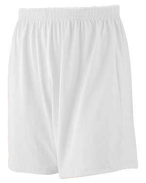 Augusta 990 Men Jersey Knit Short White at GotApparel