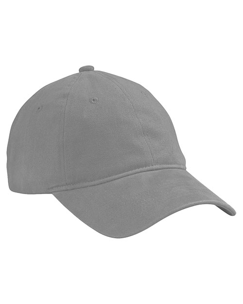 Big Accessories / BAGedge BA511 Men Heavy Brushed Twill Unstructured Cap Grey at GotApparel