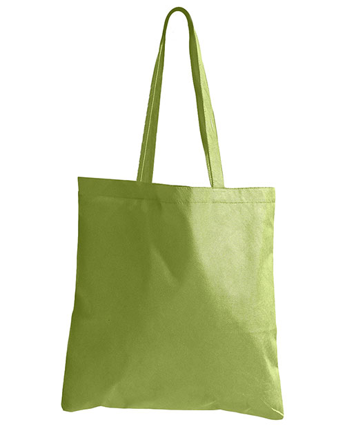 BAGedge BE003 8 oz. Canvas Tote Lime at GotApparel
