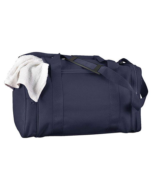 Big Accessories / BAGedge BE014 Unisex Small Nylon Sport Duffel Navy at GotApparel