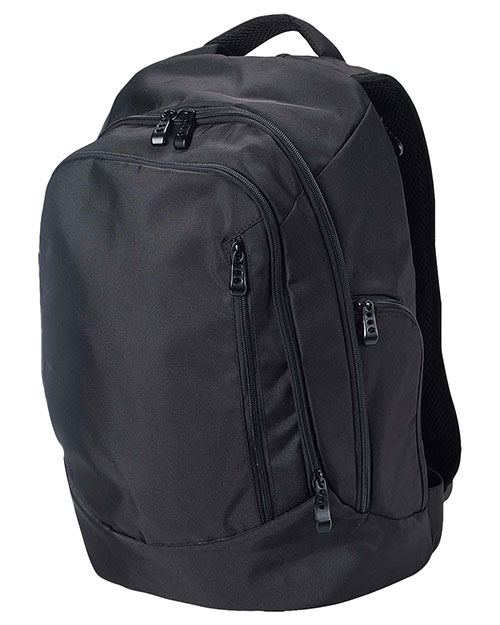 Big Accessories / BAGedge BE044 Unisex Tech Backpack Black at GotApparel