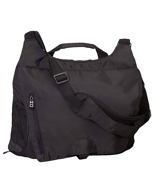 Big Accessories / BAGedge BE045 Unisex Messenger Tech Bag Black at GotApparel