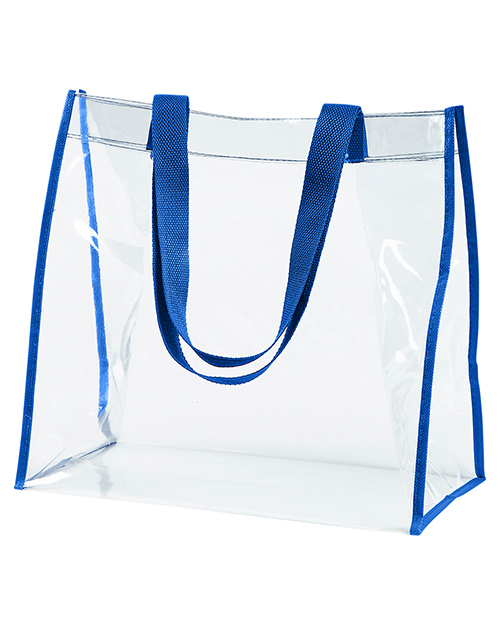 BAGedge BE252 Clear PVC Tote at GotApparel