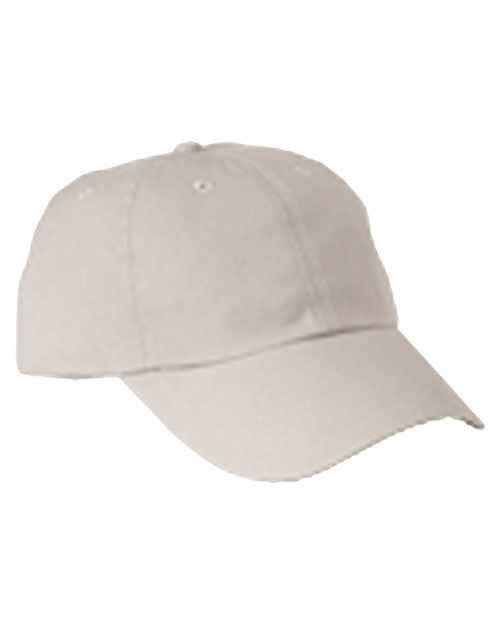 Big Accessories / BAGedge BX005 Unisex 6Panel Washed Twill Low-Profile Cap Stone at GotApparel
