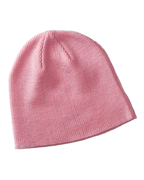Big Accessories / BAGedge BX026 Men Knit Value Beanie Pink at GotApparel