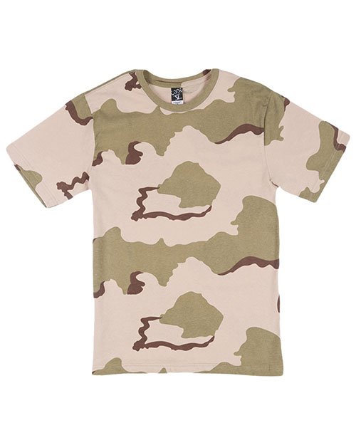 Code V 2206 Girls Camoflauge Tee Desert Camouflage at GotApparel