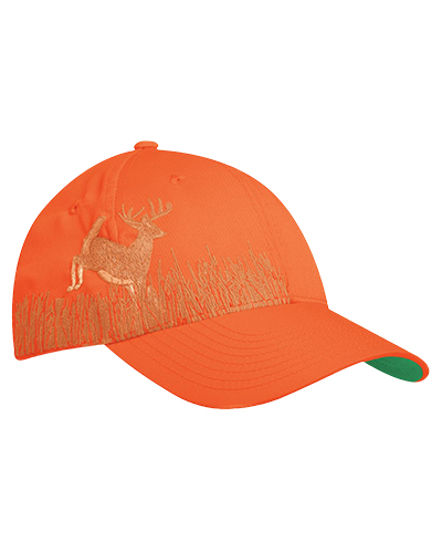 Port Authority C820 Men Embroidered Camouflage Cap Orange Bz/Deer at GotApparel