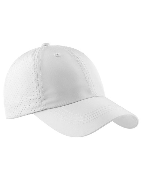Port Authority C821 Men Perforated Cap White at GotApparel