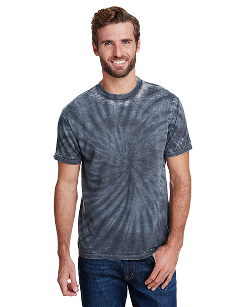 Tie-Dye CD1090 Men Burnout Festival T-Shirt at GotApparel