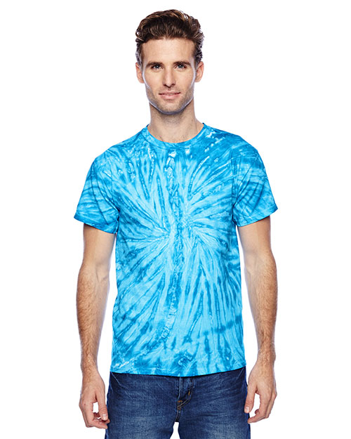 Tie-Dye CD110 Men 5.4 Oz. 100% Cotton Twist D T-Shirt at GotApparel