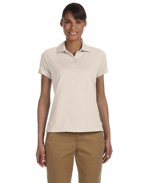Chestnut Hill CH180W Women Performance Plus Jersey Polo Stone at GotApparel