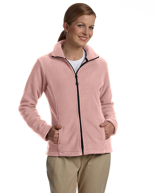 Devon & Jones Classic D780W Women Wintercept FullZip Fleece Jacket Wild Geranium at GotApparel