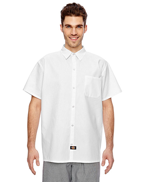 Dickies Workwear DC125 Adult 4.25 oz. Cook Shirt at GotApparel