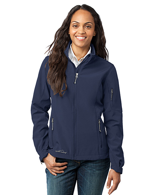 Custom Embroidered Eddie Bauer EB531 Soft Shell Jacket at GotApparel