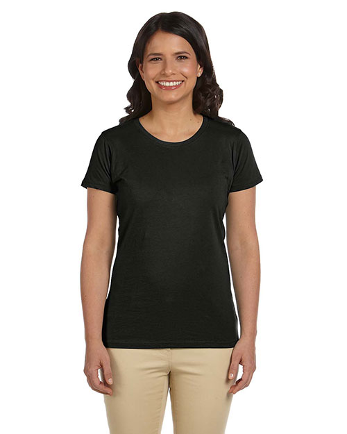 Econscious EC3000 Women 4.4 oz., 100% Organic Cotton Classic short sleeve TShirt Black at GotApparel