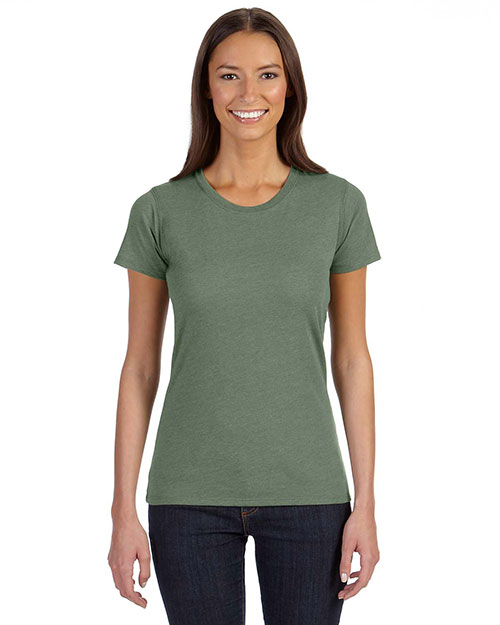 Econscious EC3800 Women 4.25 oz. Blended Eco T-Shirt Asparagus at GotApparel