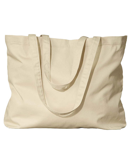 Econscious EC8001 8 oz. Organic Cotton Large Twill Tote Oyster at GotApparel
