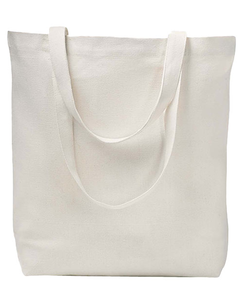 eConscious EC8005  - Big Accessories Everyday Tote NATURAL at GotApparel
