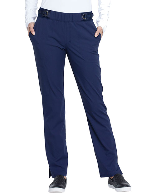 EL145 Mid Rise Tapered Leg Pull-on Pant at GotApparel