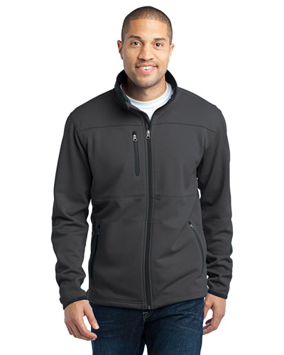 Port Authority TLF222 Men Tall Pique Fleece Jacket Graphite at GotApparel