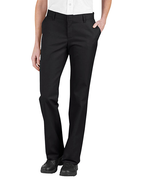 Dickies FP322 Women Relaxed Fit Flat Front Twill Pant at GotApparel