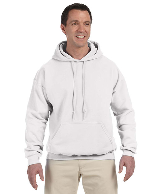 Gildan G125 Men DryBlend 9.3 oz., 50/50 Hood White at GotApparel
