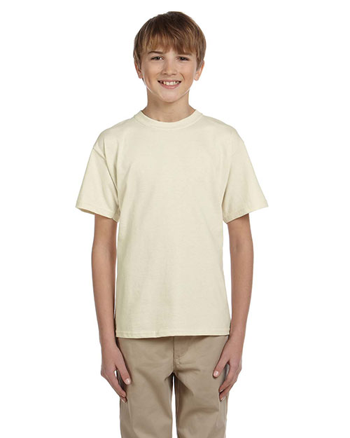 Gildan G200B Boys Ultra Cotton 6 oz. T-Shirt Natural at GotApparel