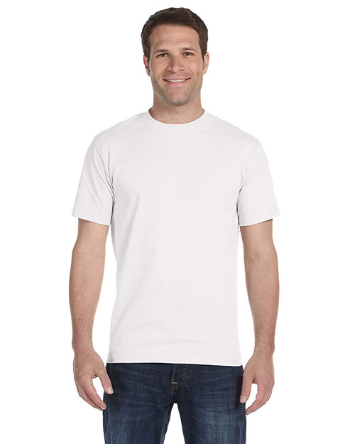 Gildan G800 Men's DryBlend 5.6 oz., 50/50 T-Shirt White at GotApparel