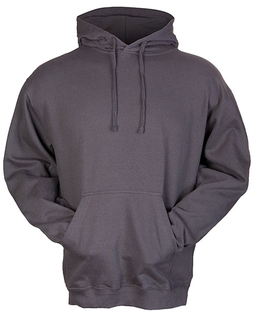 GotApparel GA320 Unisex Pullover Hood Charcoal at GotApparel