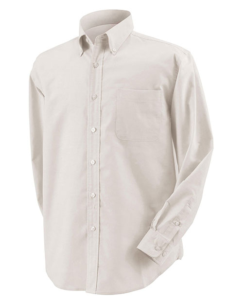 Harvard Square HS600 Men Five Star Performance Long-Sleeve Oxford Sterling at GotApparel