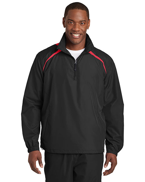 Sport-Tek JST75 Men 1/4-Zip Wind Shirt at GotApparel