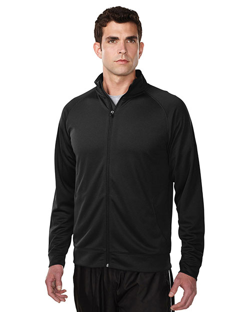 TM Performance K630 Men Exocet Knit Full-Zip Jacket at GotApparel