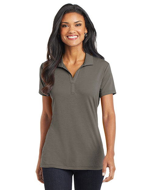 Port Authority L568 Women Cotton Touch Performance Polo at GotApparel