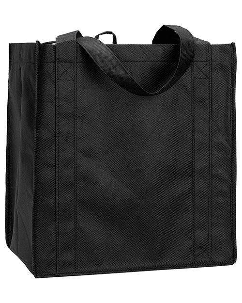 UltraClub R3000  Unisex Reusable Shopping Bag Black at GotApparel