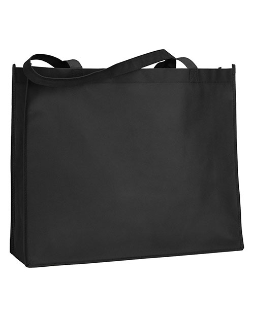 UltraClub A135  Unisex Deluxe Tote Black at GotApparel