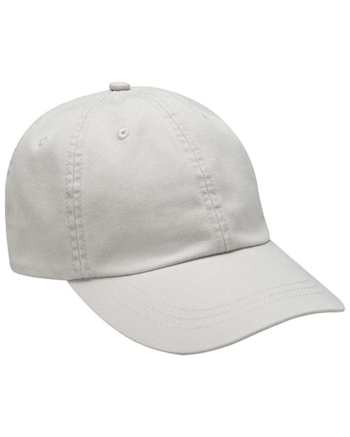 Adams LP104 6-Panel Low-Profile True Color Twill Cap at GotApparel