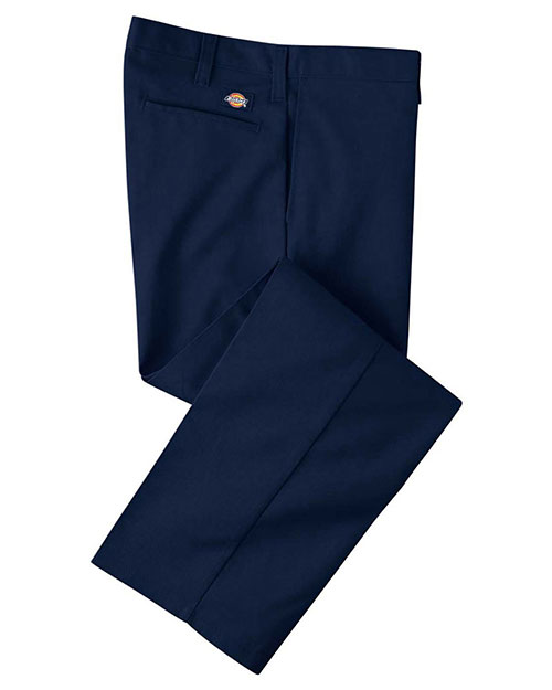 Dickies LP812 Men 7.75 oz. Industrial Flat Front Pant Navy 32 at GotApparel