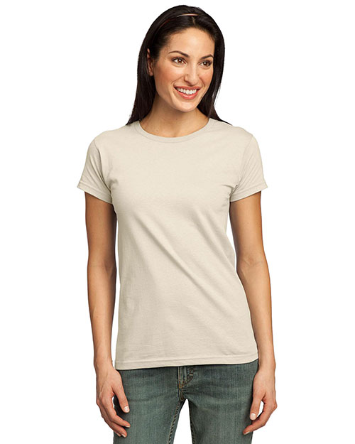 Port & Company LPC50ORG Women Organic Cotton TShirt Natural at GotApparel